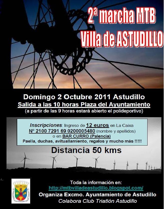 II Marcha MTB Villa de Astudillo