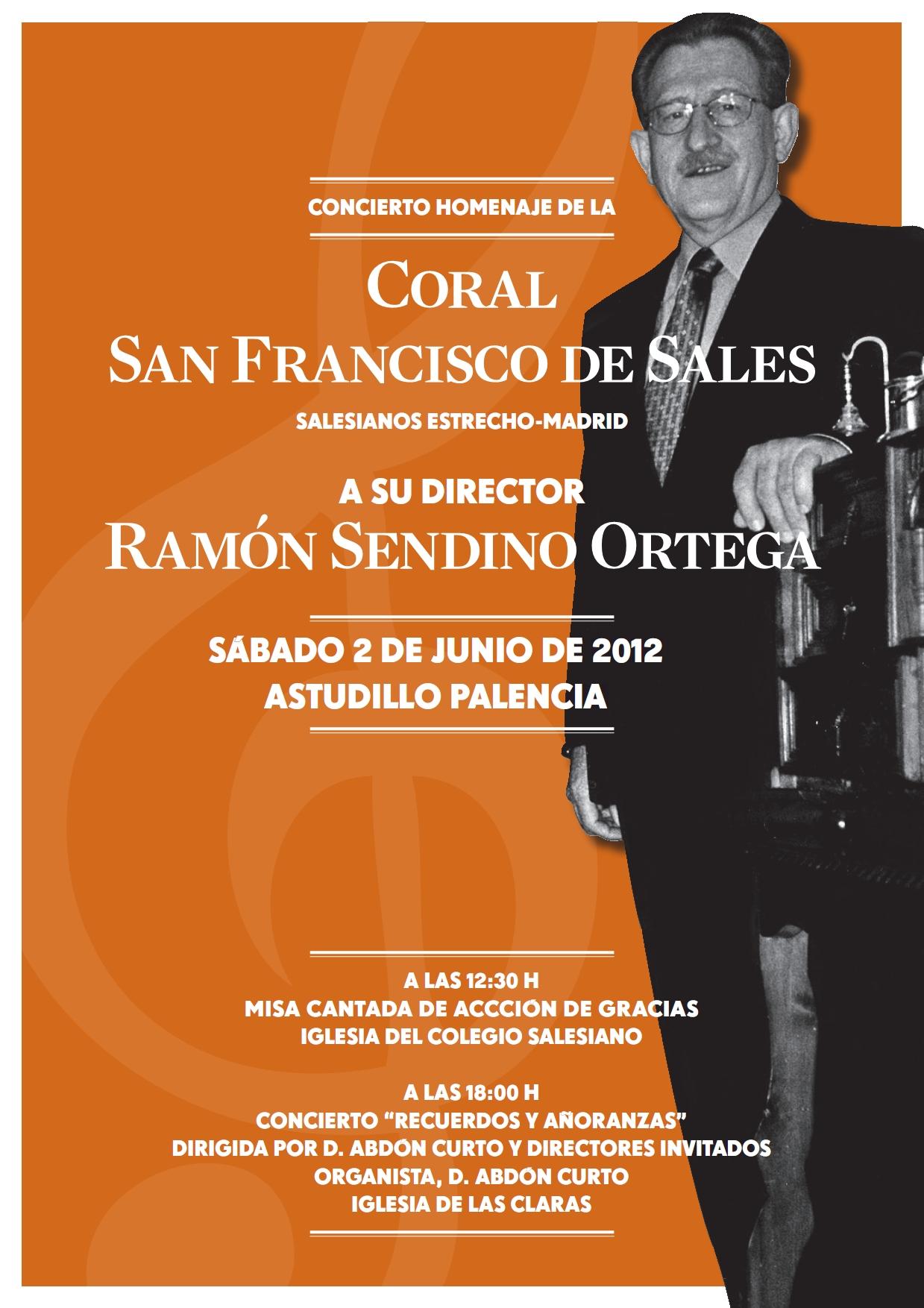 Concierto Homenaje Ramón Sendino Ortega