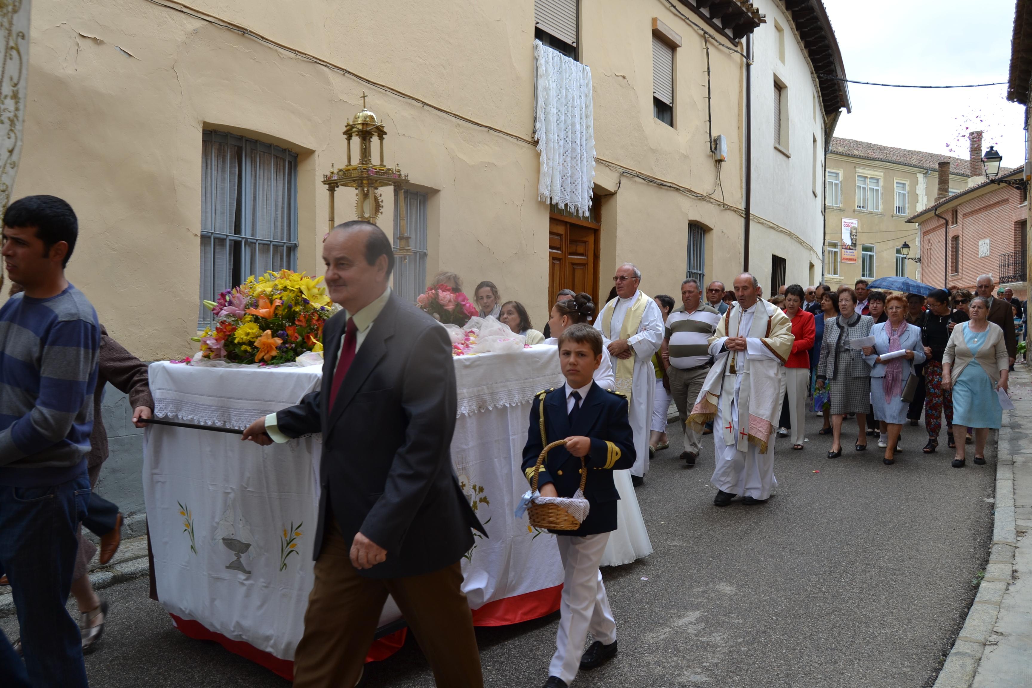 Procesión del Corpus Christi 2012