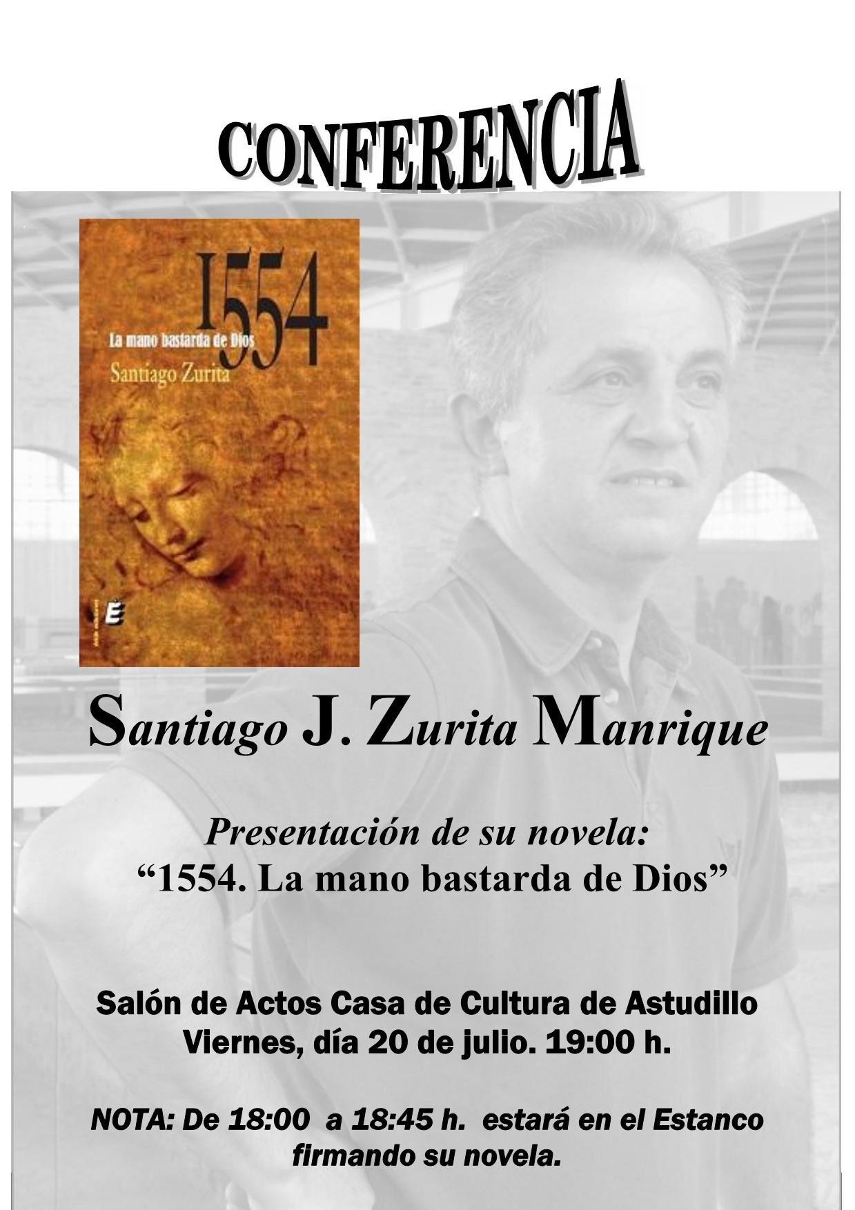 Conferencia de Santiago J. Zurita Manrique