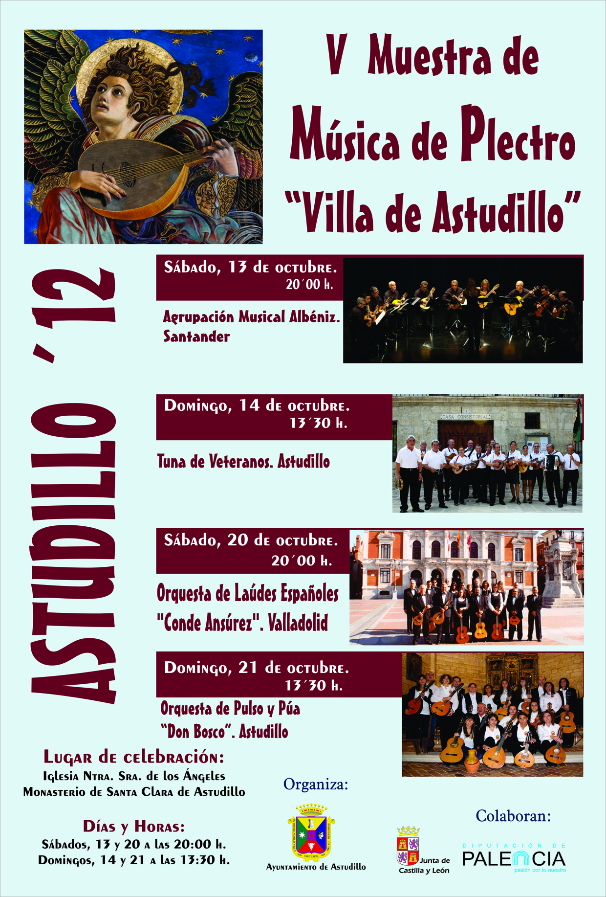 V Muestra de Música de Plectro «Villa de Astudillo»