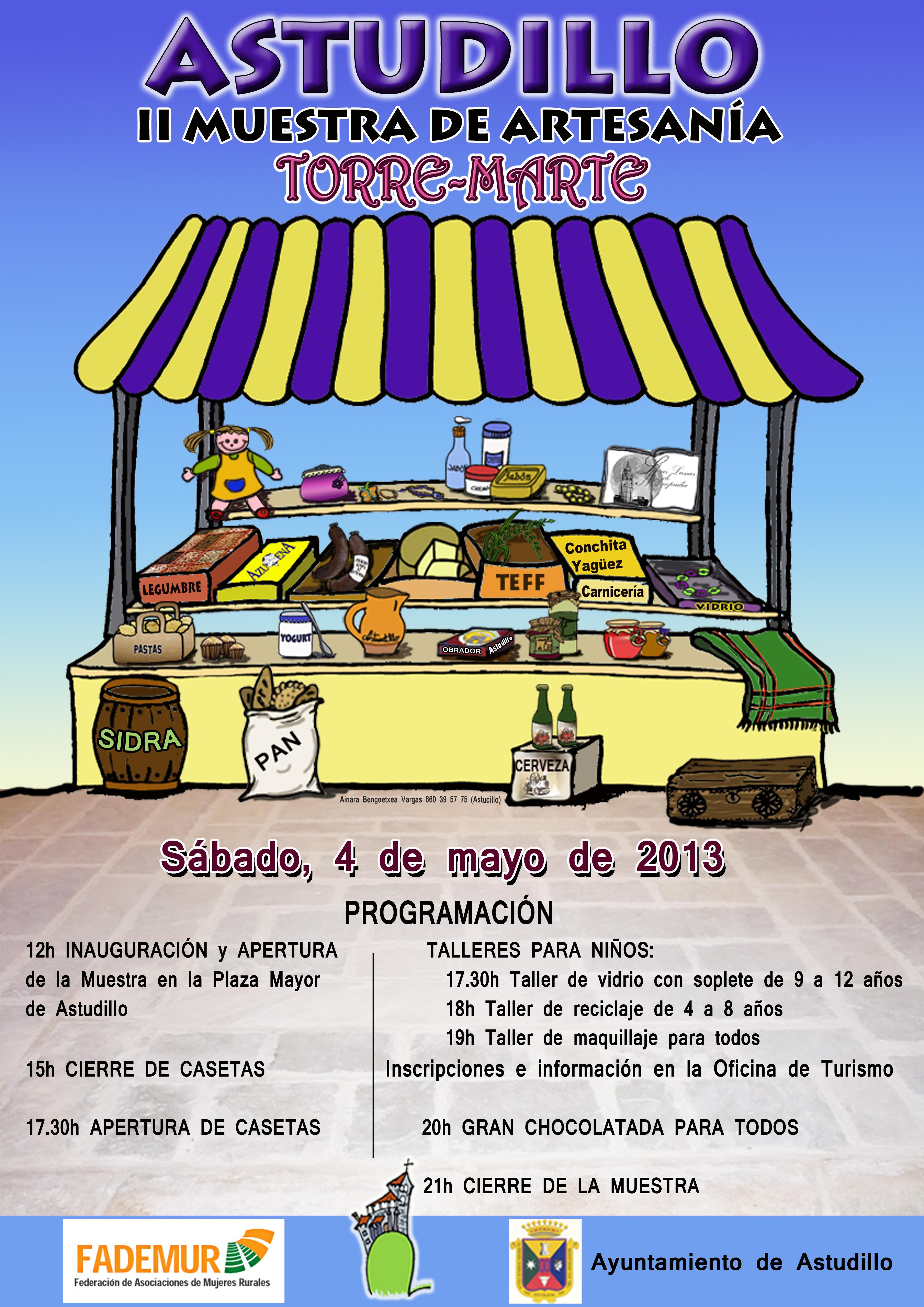 II Feria de Artesanía «Torre Marte»