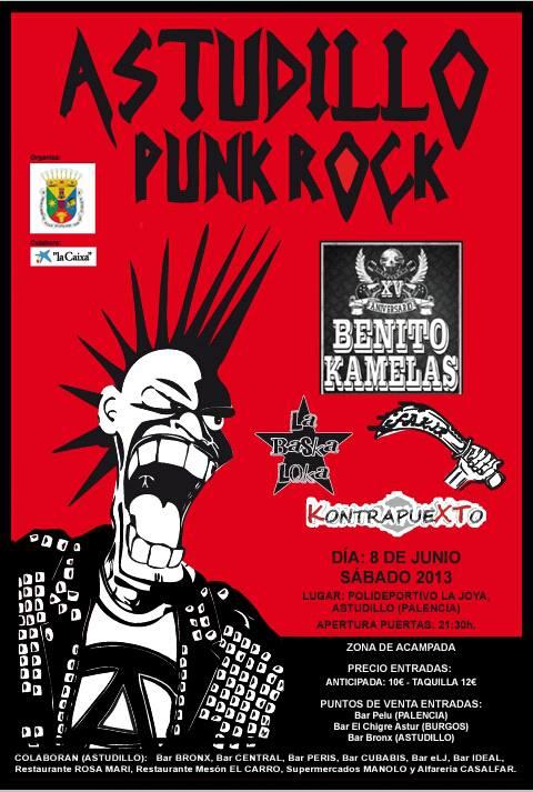 Astudillo Punk Rock, 8 de Junio