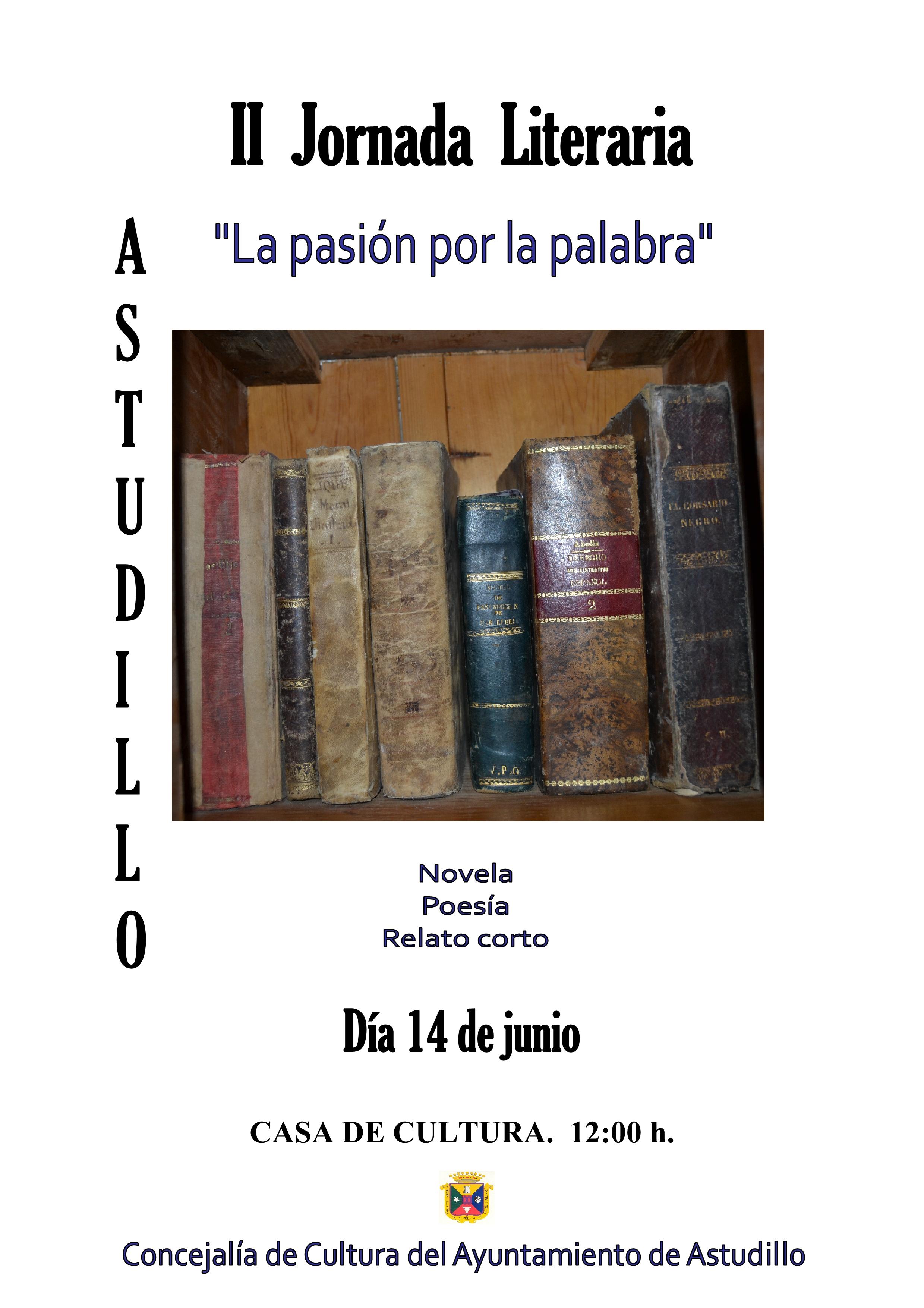 II Jornada Literaria «La pasión por la palabra»