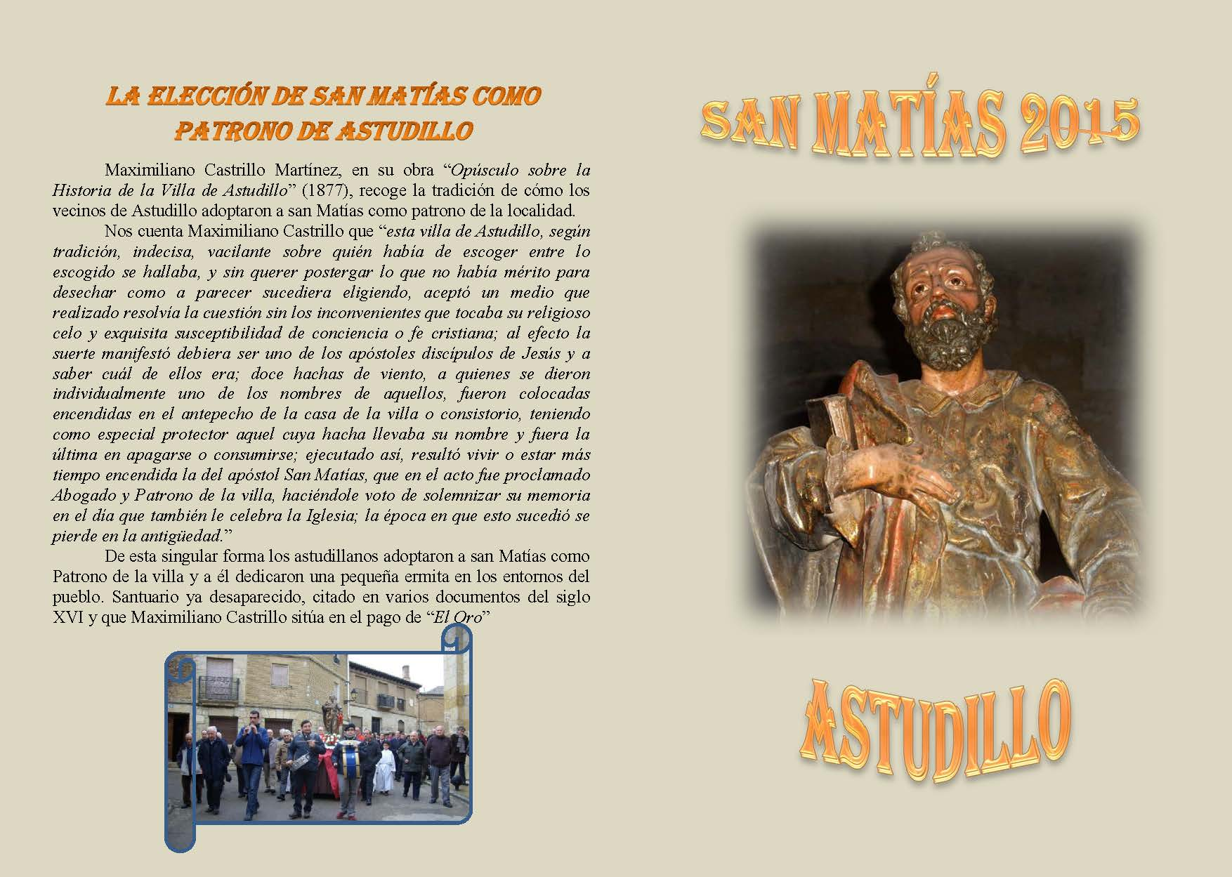 San Matías 2015