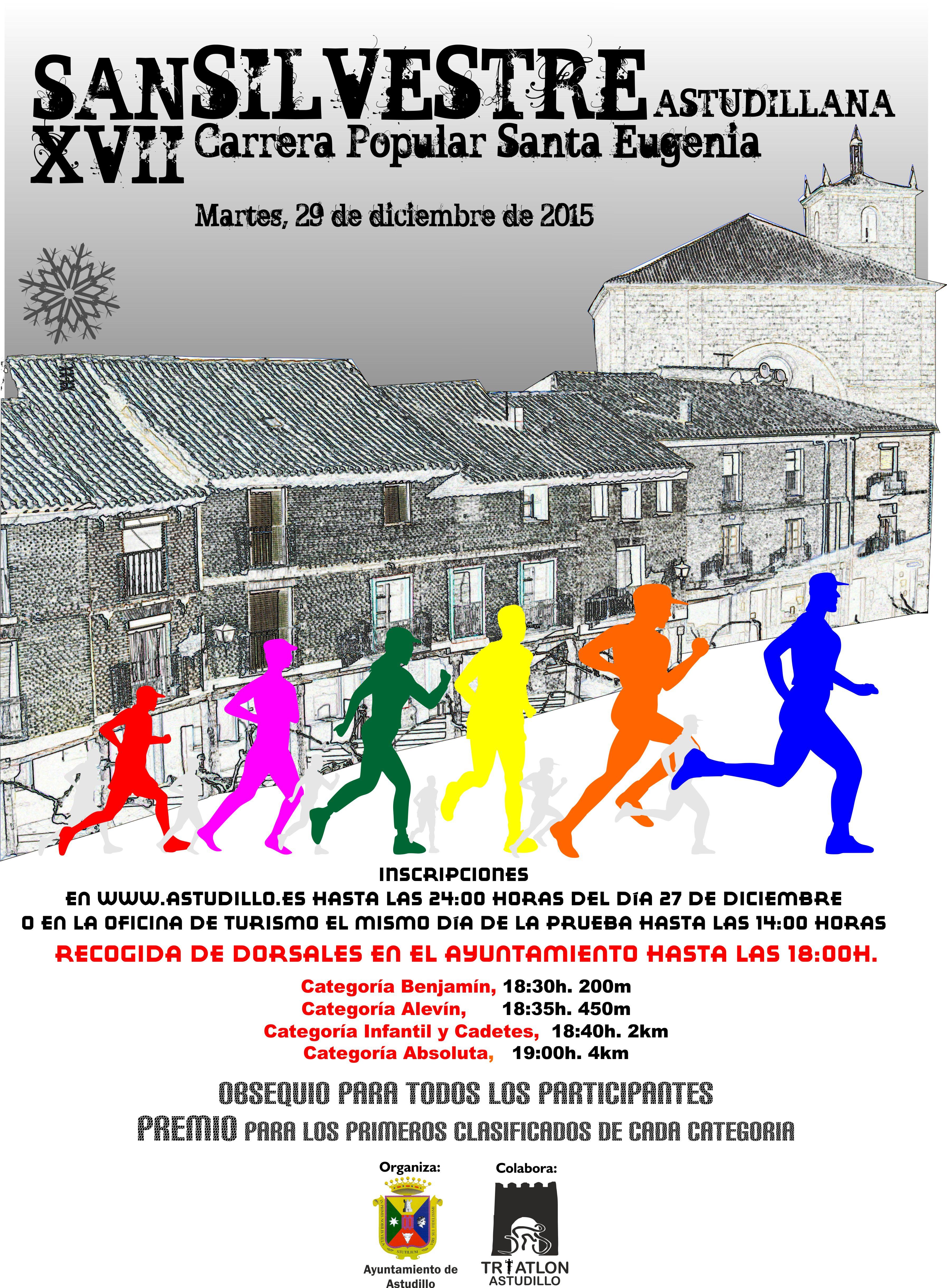 XVII San Silvestre Astudillana – Carrera Popular Santa Eugenia