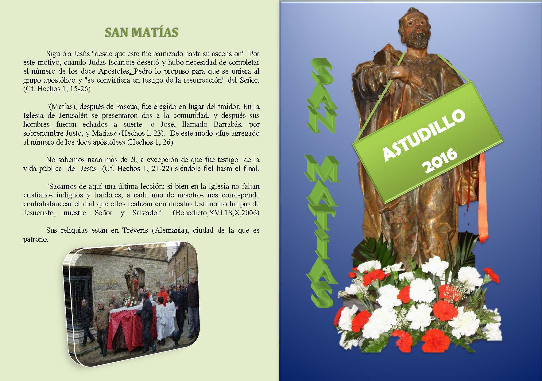 San Matías 2016