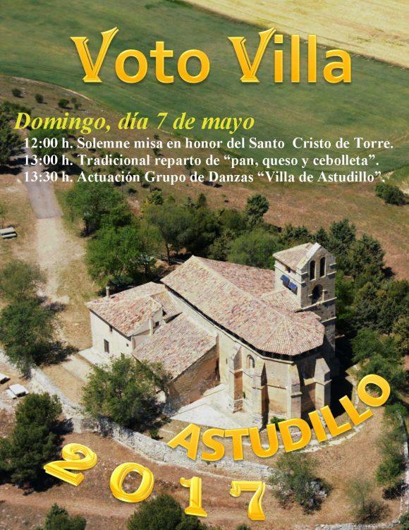 Cartel Voto Villa 2017
