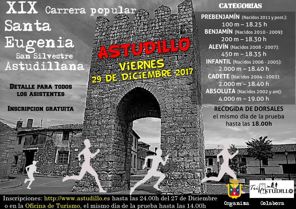 XIX Carrera Popular Santa Eugenia – San Silvestre Astudillana