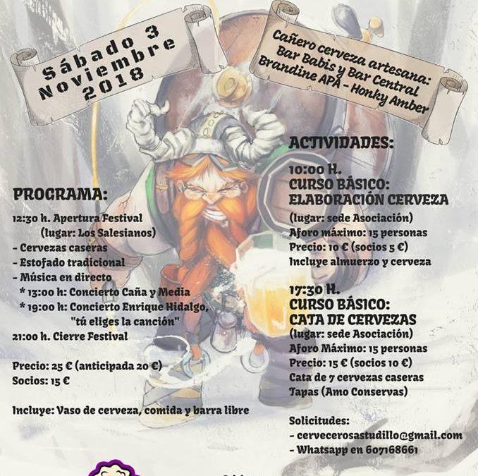 I Festival de cerveza casera de Astudillo